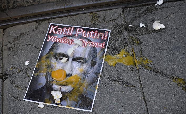 Череда дипломатических ошибок Путина