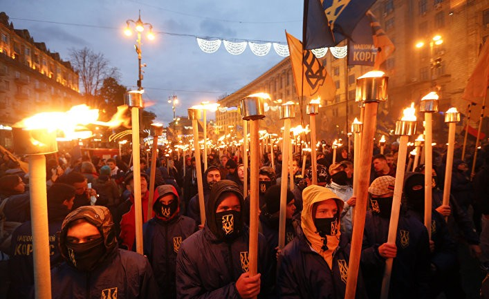 Украина: жутко и мерзко
