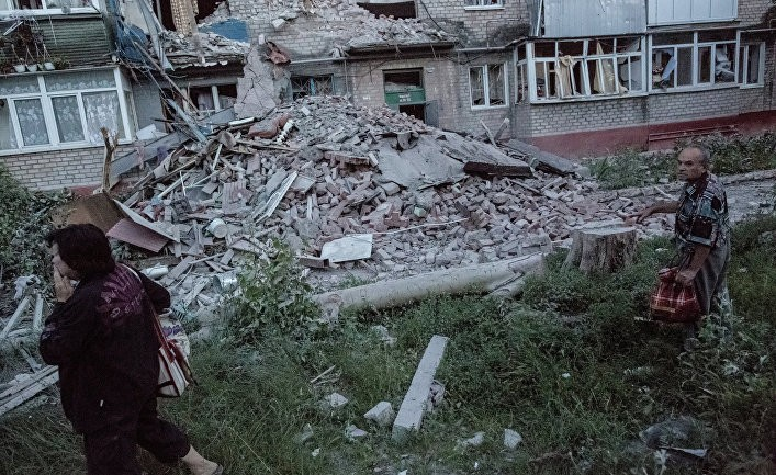 Странная война на Донбассе