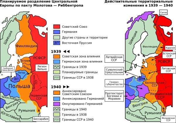 Лишь 40 процентов россиян верят в существование пакта Молотова – Риббентропа