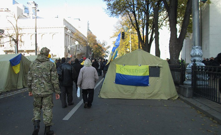 Минибунт на Украине как символ безучастности