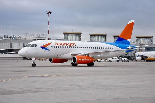 В аэропорту «Пулково» начал работу новый российский авиаперевозчик «Азимут»
