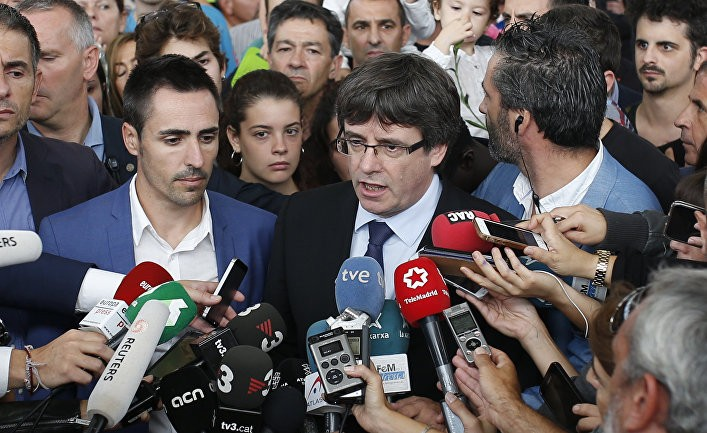 Пучдемон в ответе за будущее Каталонии