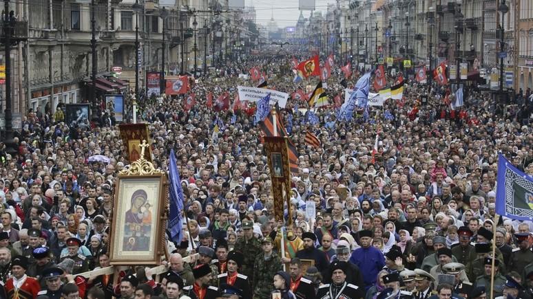 SHZ: скандал вокруг «Матильды» оказался для россиян интереснее, чем столетие революции