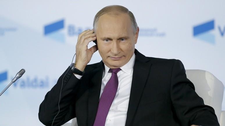 WP: Путин не спешит выдвигаться на выборы, но разговаривает так, будто уже победил