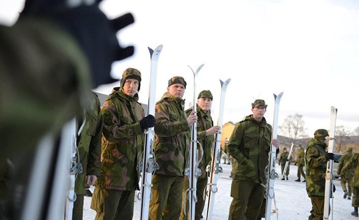 Норвегия вооружается для войны с Россией?