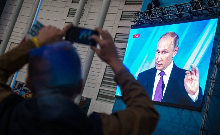 Путин призвал относиться к Трампу с уважением