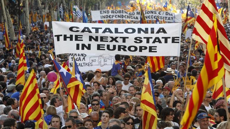 Sydöstran: ЕС остаётся только молиться, чтобы Каталония не повторила судьбу Украины