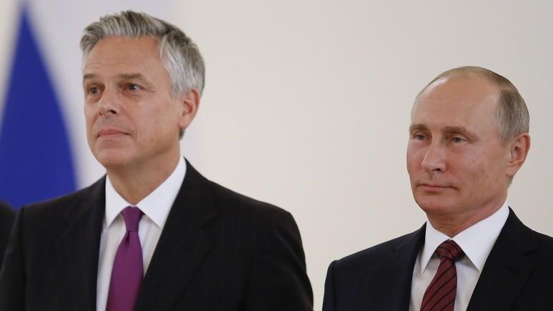 Salt Lake Tribune: в Юте верят, что бывший губернатор поможет США поладить с Москвой