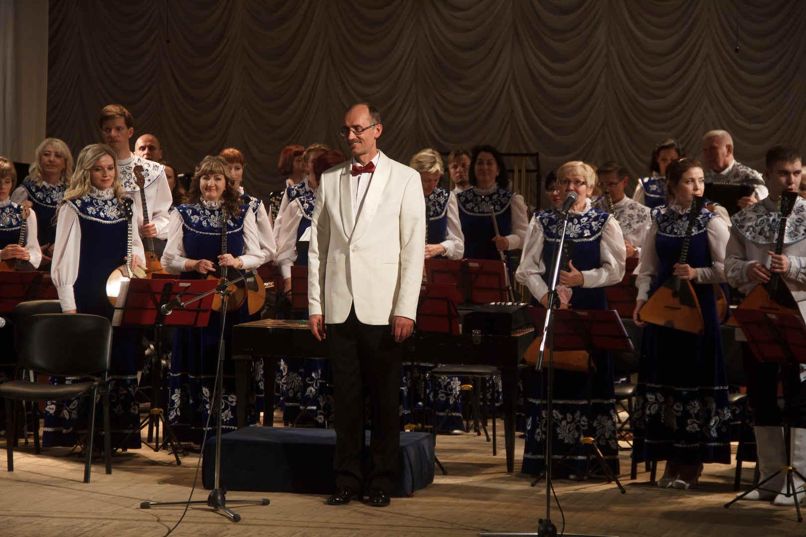 Праздничный концерт Вятского оркестра русских народных инструментов