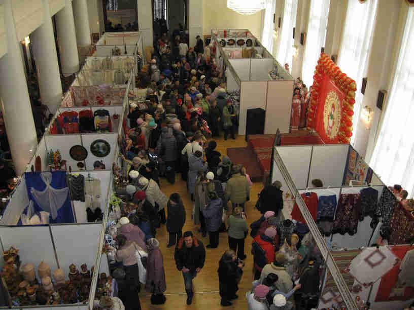Межрегиональный фестиваль народных художественных промыслов «Кладовая ремесел»