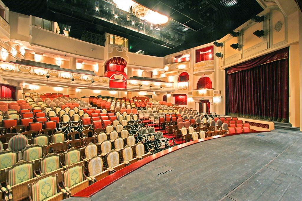 Круглосуточный заказ и покупка билетов в театры Москвы