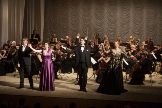 Открытие юбилейного концертного сезона Вятской филармонии
