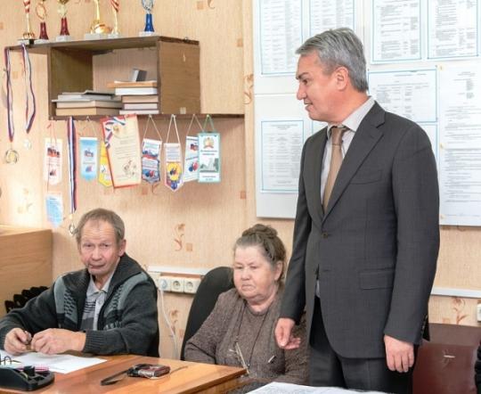 Рахим Азимов встретился с ветеранами Фаленского района