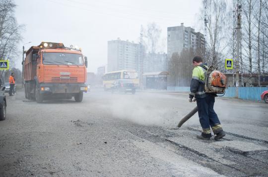 Ремонтируют 5 улиц