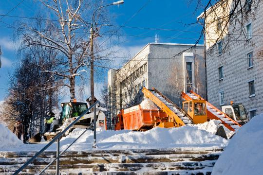 Ищут подрядчика для снега