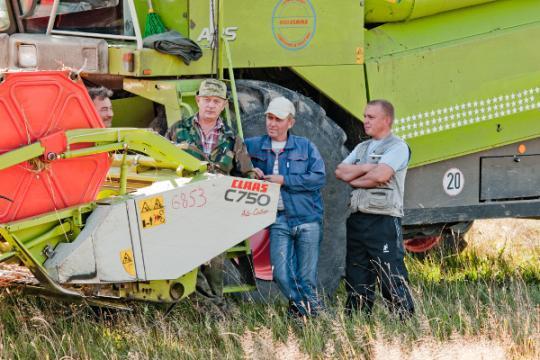 Аграрии жалуются на износ техники