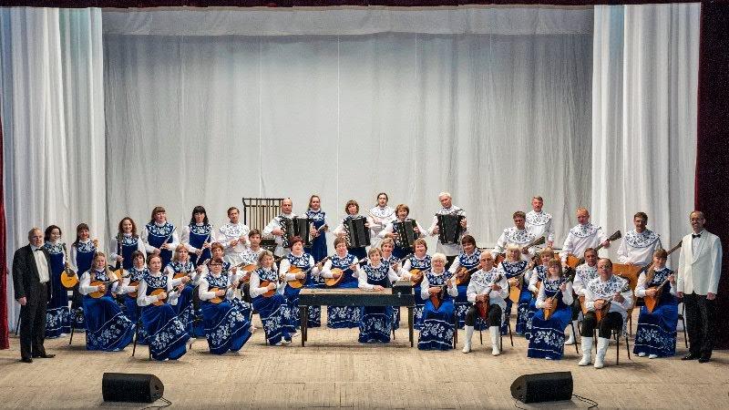Концерт Вятского оркестра русских народных инструментов им.Шапялина