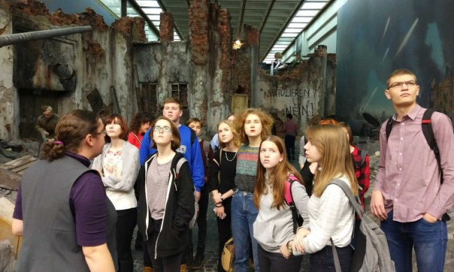 Ученики Школы №548 участвуют в программе «Московский экскурсовод»