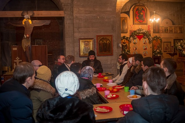 5 ноября Храм Андрея Рублёва в Раменках приглашает на молодёжную беседу