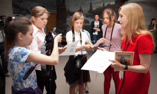В Музее Победы прошёл день образовательной программы «Боевые каникулы»
