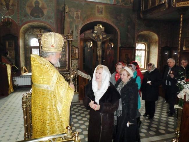В храме Архистратига Михаила в Тропареве прошел благодарственный молебен 145-летию основания МПГУ