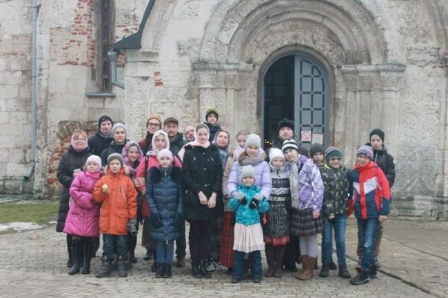 Ученики Воскресной школы храма святителя Спиридона Тримифунтского побывали  в городе Юрьев-Польский