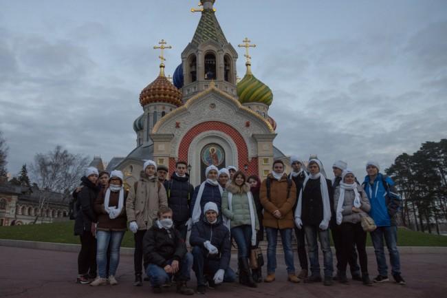 Студенты МТУ выступили волонтерами на службе у Патриарха Московского и всея Руси Кирилла