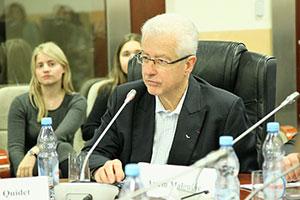 Президент Франко-российской ТПП Эммануэль Киде встретился со студентами МГИМО