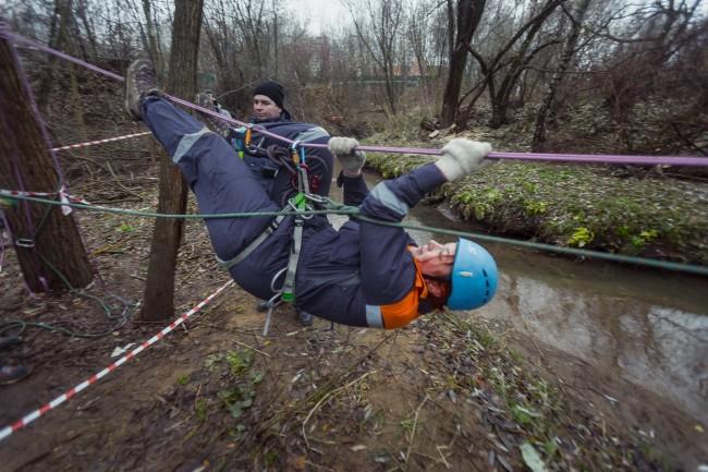 В МИРЭА завершились соревнования спасателей