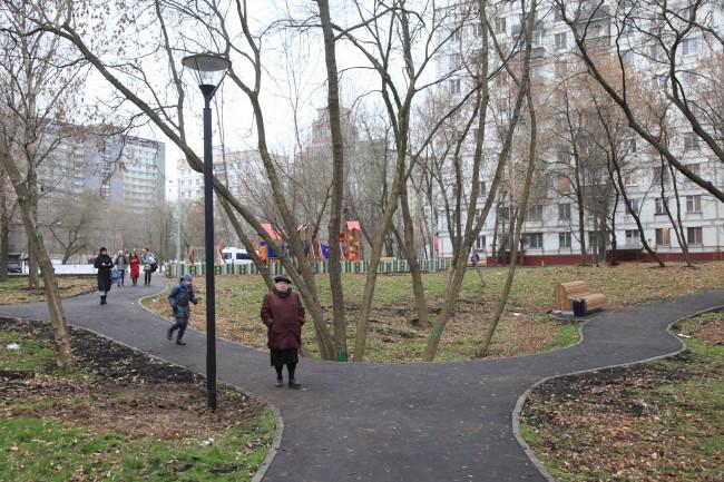В районе Раменки появилась еще одна зона отдыха и спорта