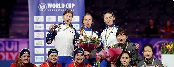 Конькобежцы ЗАО стали победителями этапа Кубка мира