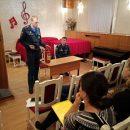 В Детской музыкальной школе № 96 провели пожарный инструктаж