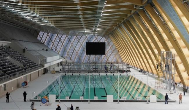 Территория в районе Крылатское превращается в зону водных видов спорта