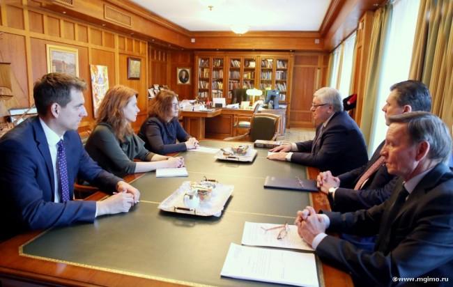 Министр образования Словакии побывала в МГИМО