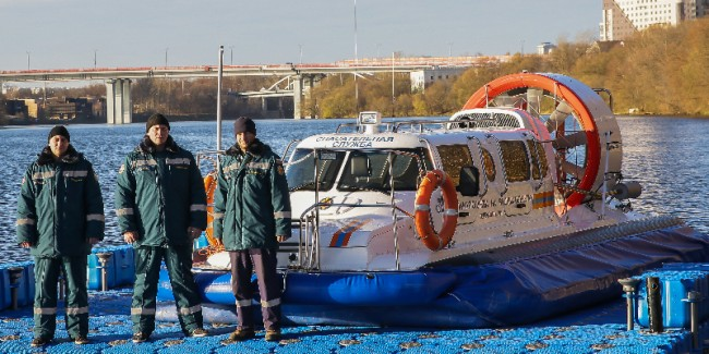 «Карамышево» — лучшая поисково-спасательная станция Москвы