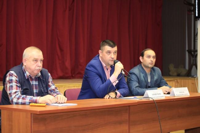 Встреча представителей управы с жителями