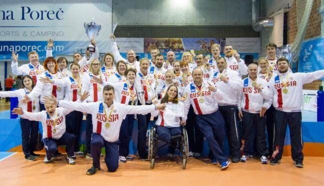 Волейболистки ЗАО выиграли на Чемпионате Европы