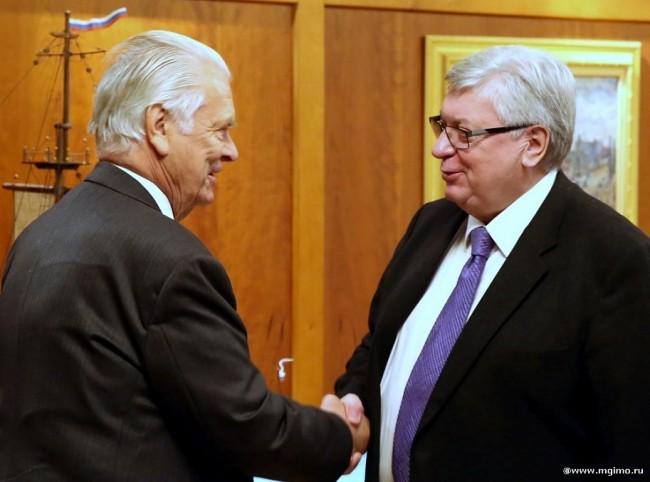 МГИМО посетил министр иностранных дел Великобритании, член палаты лордов Дэвид Оуэн
