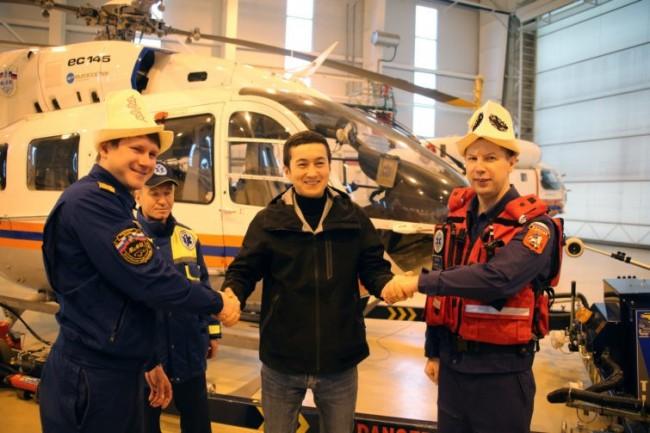 В «Московском авиационном центре» прошла акция «Спасибо за жизнь!»