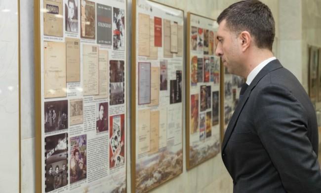 21 ноября в Музее Победы открылась выставка «Волжский рубеж в культурной памяти»