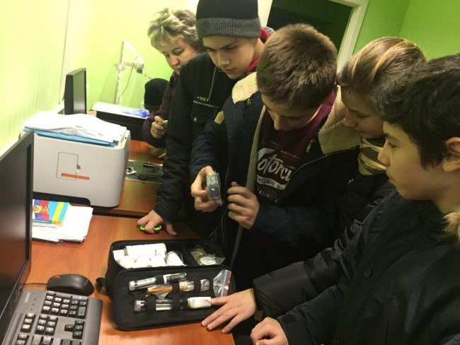 День открытых дверей в линейном отделе МВД России в аэропорту Внуково