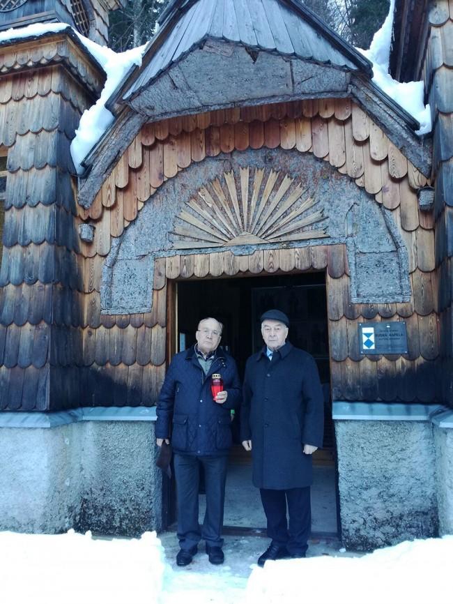 Ректор МГУ посетил Русскую часовню в Словении
