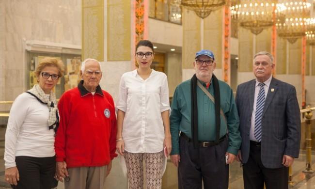 Ветераны Бразилии посетили Музей Победы