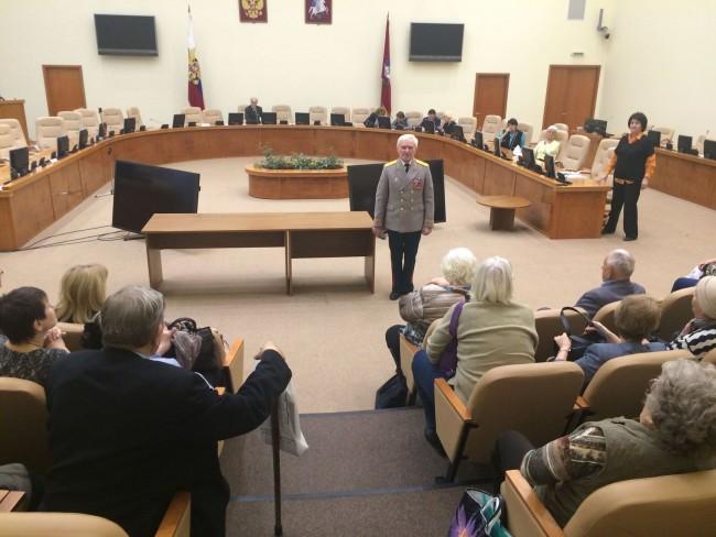 Социальная поддержка старшего поколения: состоялся пленум Совета ветеранов ЗАО
