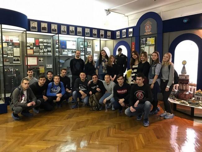 Студенты МТУ посетили Центральный музей МВД России