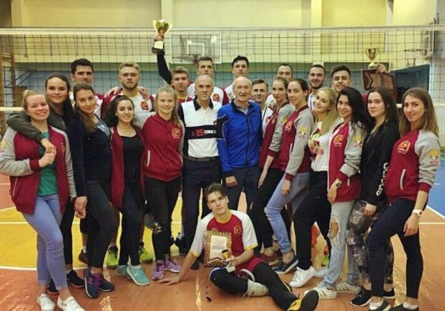 Волейболисты Президентской академии – призеры ежегодного чемпионата в Сочи