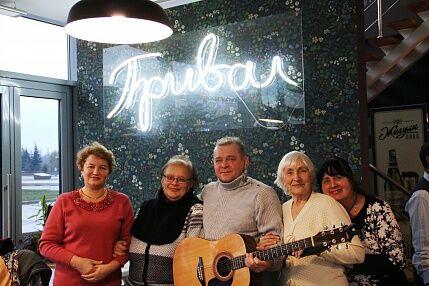 В Парке Победы начал работу клуб любителей авторской песни «Три аккорда»