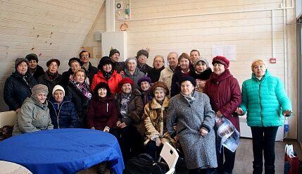 В парке Победы прошло заседание клуба любителей фронтовой песни «Поиск»