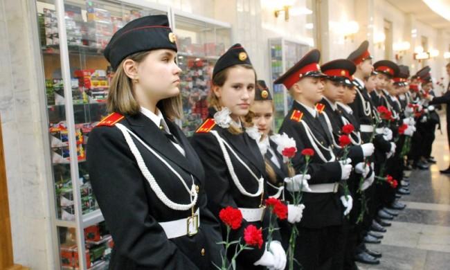30 ноября воспитанники Школы № 2026 дали клятву кадета в Музее Победы